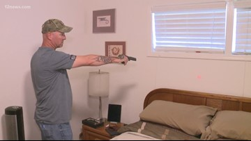 Two Valley families fall victim to intruder