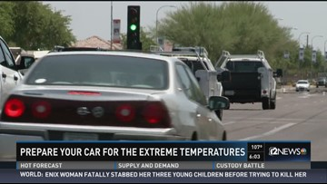 Here's what happens to your car in extreme heat | 12news com