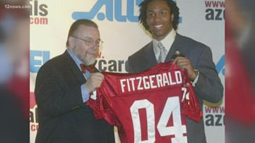 Where were you when Larry Fitzgerald got drafted to the Cardinals?