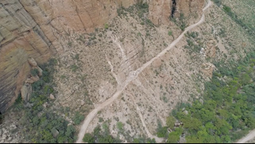 ADOT inspecting SR 88 for flood, mudslide damage