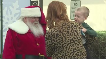 Sensory-free Santa visits kids with Autism in Gilbert