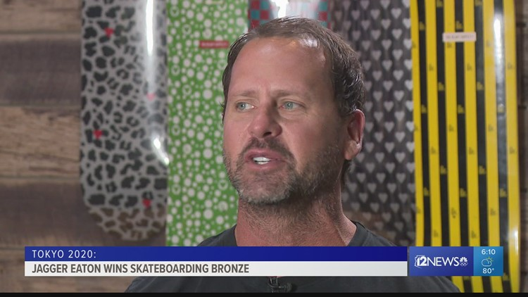 Mesa Olympian dad says he gets nervous to watch his kids compete