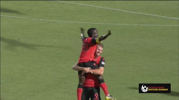 Phoenix Rising stay undefeated on '$1 Beer Night', Solomon Asante takes club goal record