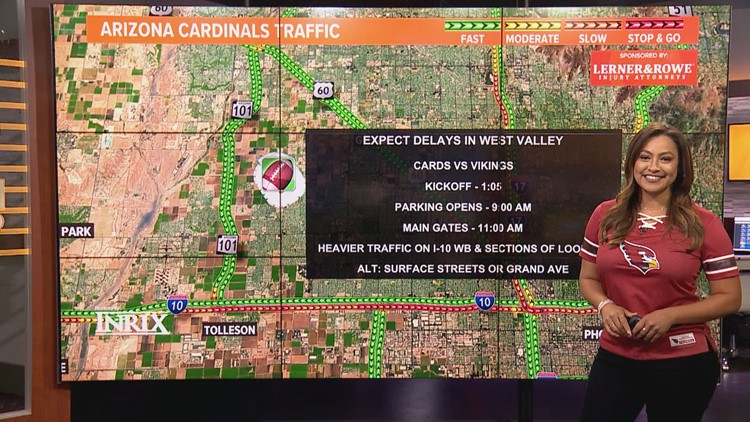 Weekend traffic report for Sept. 17 - Sept. 20