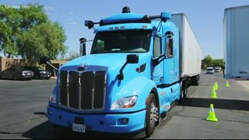 Get a look at Waymo's self-driving semi-trucks on Arizona's roads