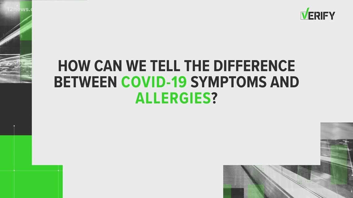 VERIFY: Allergy symptoms vs. COVID-19 symptoms