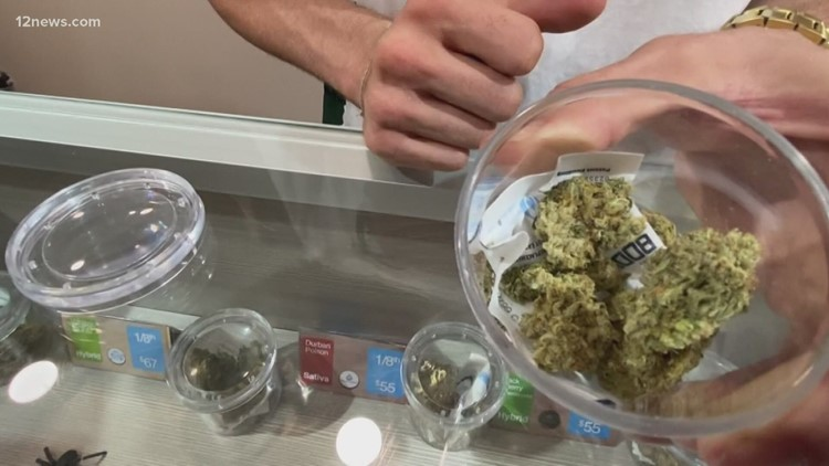 List: Dispensaries in Arizona approved to begin selling recreational marijuana