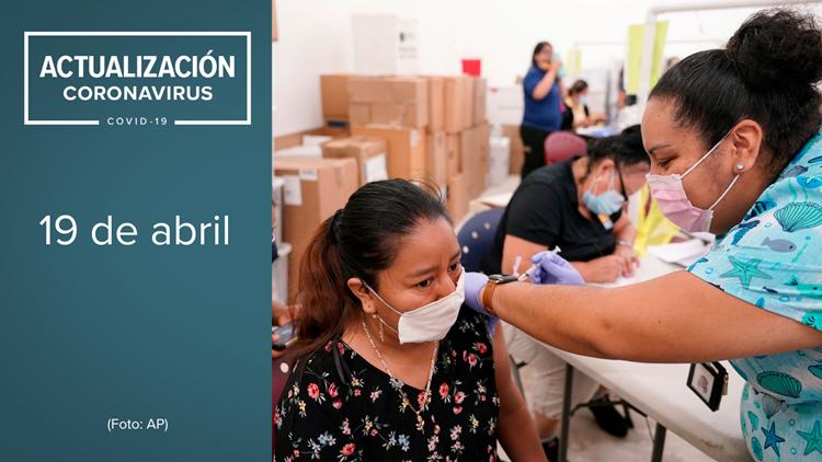 Coronavirus en Arizona el 19 de abril: 692 nuevos casos y ningún deceso se reporta el lunes
