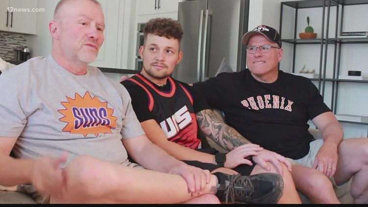'It was a labor of love': Meet the Valley family business that came up with the first Suns logo