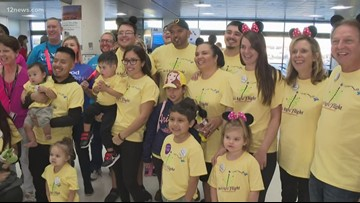 MAAgic flight helps grant wishes for Arizona kids
