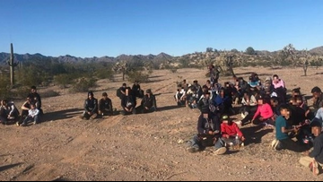 124 personas detenidas por la patrulla fronteriza de Arizona