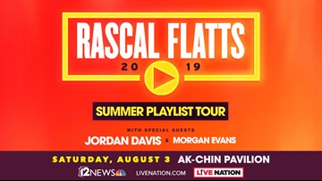 FIRST @ 4 RASCAL FLATTS SWEEPSTAKES