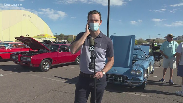 Competition heats up at the Good Guys Car Show