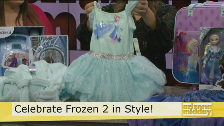 Let it Go! and get the newest Frozen 2 swag from JCPenney