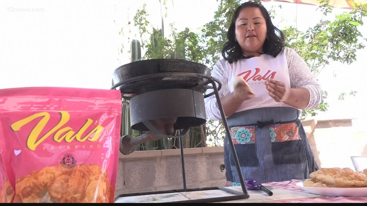 Val's Fry Bread is a thriving business that gives back to the community