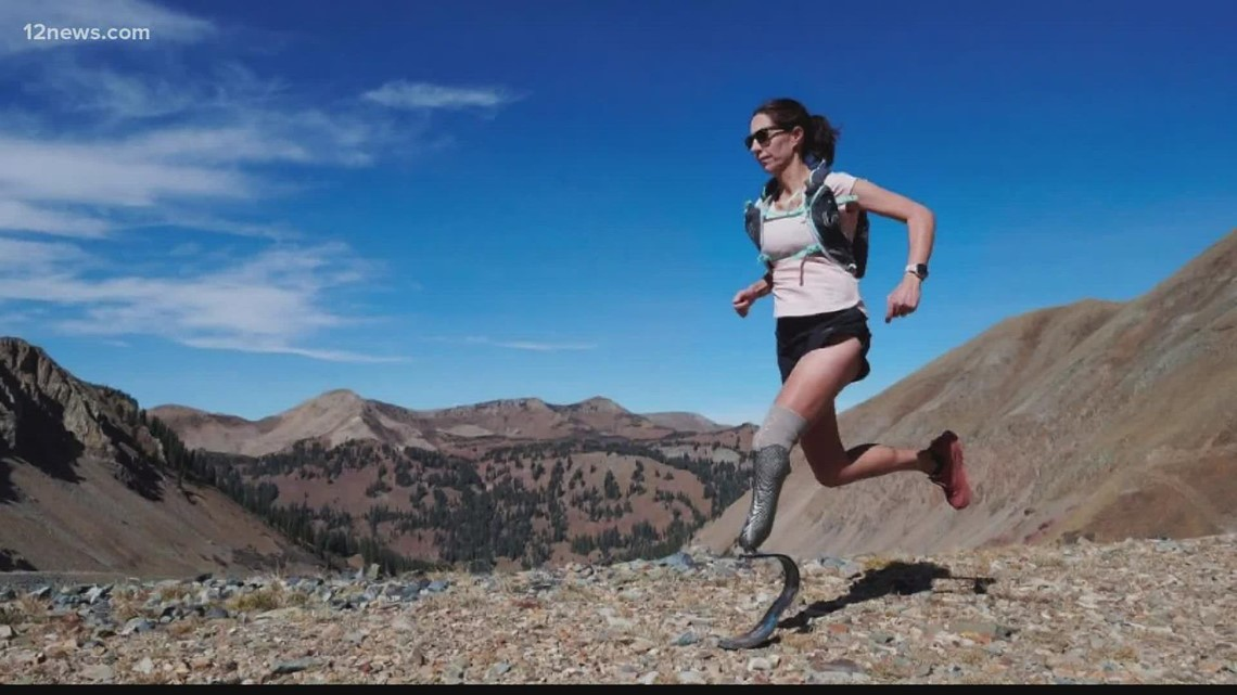 Arizona mom on a mission to become first amputee to finish Moab 240