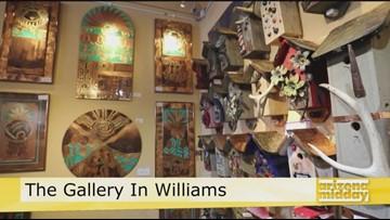 The Gallery in Williams & The Williams Second Saturday ArtWalk