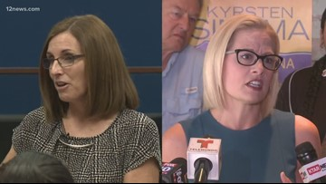 Martha McSally to sing anthem, Kyrsten Sinema to toss coin at Arizona State vs. Utah