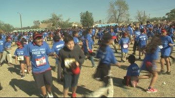 Tag, you're it! More than 2,100 Phoenix kids gather for world's largest game of freeze tag