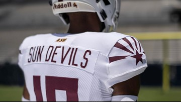 Photos: Arizona State football's new 'Selfless' jersey