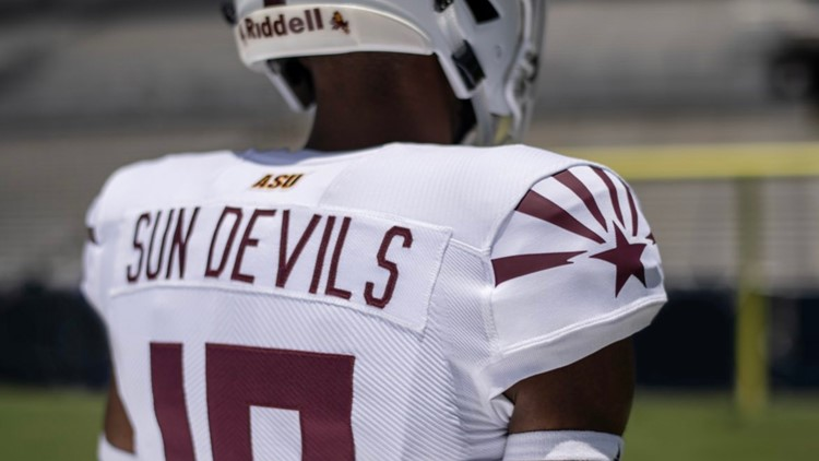 Photos: Arizona State football's new 'Selfless' jersey