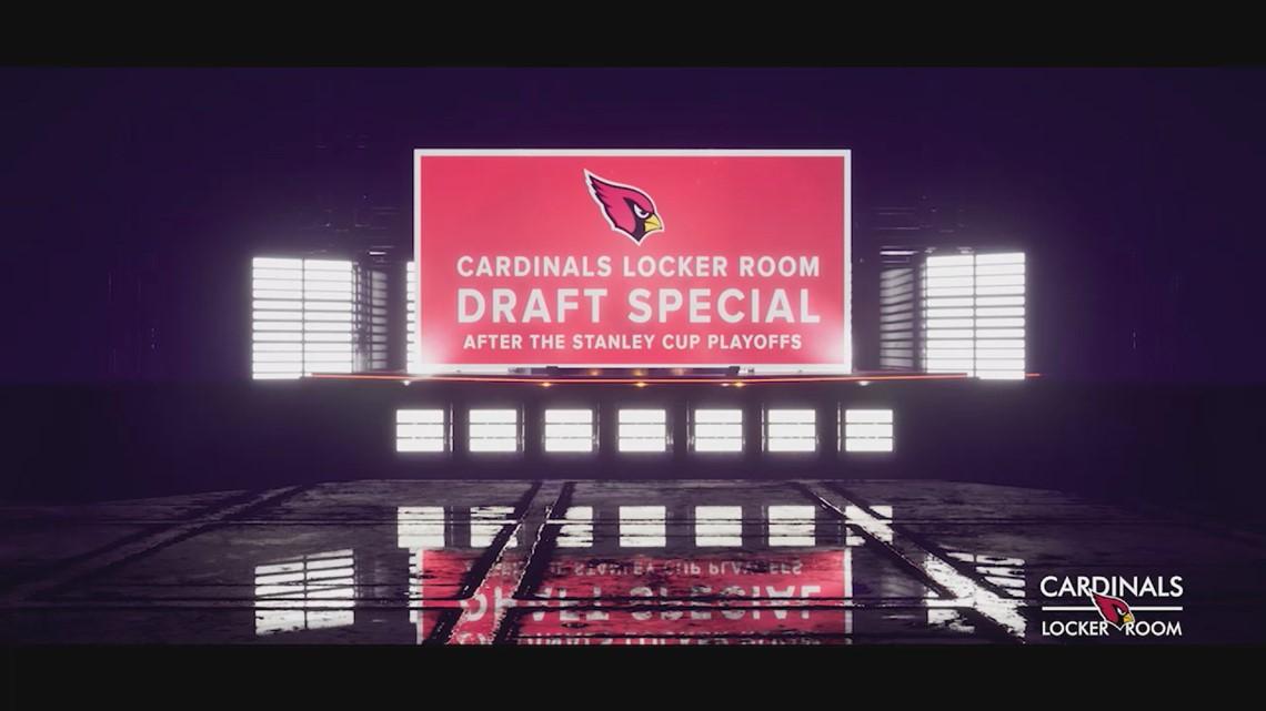 12 News to host Cardinals Locker Room Draft Special Saturday