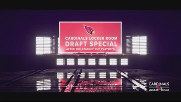 12 News to host Cardinals Locker Room Draft Special Saturday