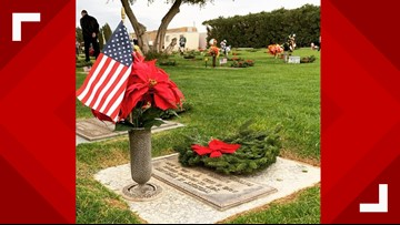 Organization remembers fallen veterans with wreaths