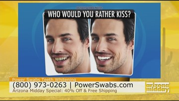 Get a Kissable Smile with Powerswabs