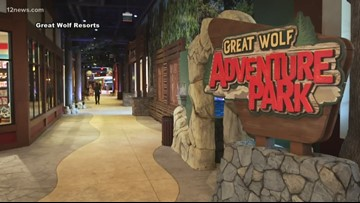 Take a tour of Great Wolf Lodge near Scottsdale