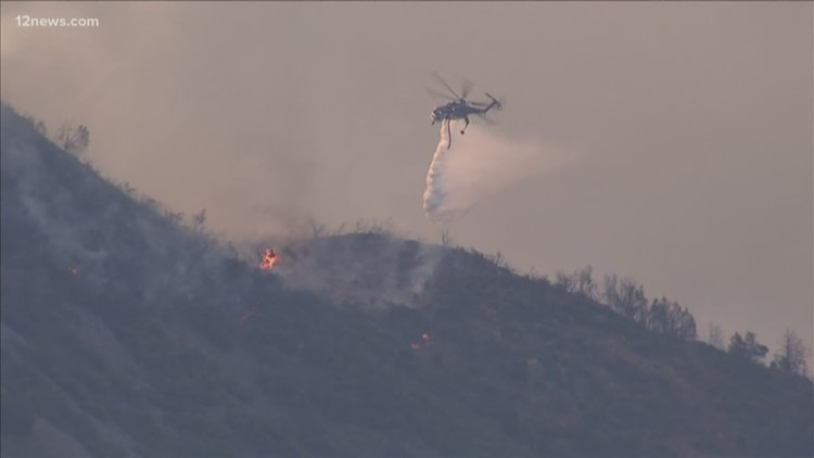 Woodbury Fire burning more than 65,000 acres in the Superstition Wilderness