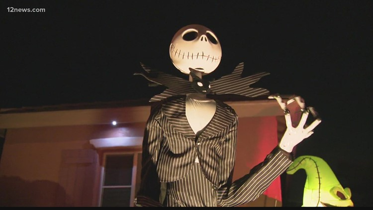 Chandler home transforms into 'Nightmare Before Christmas' to get in the Halloween spirit