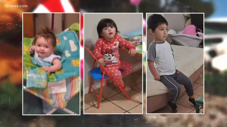 'They're all God's angels now': Phoenix community mourns the loss of 3 children