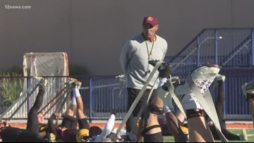 The Arizona State Sun Devils know what happens in Vegas doesn't stay in Vegas