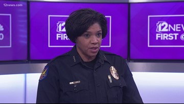 Phoenix Police Chief Jeri Williams to join 'Sunday Square Off' amid backlash over shoplifting incident
