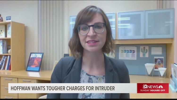 Hoffman wants tougher charges in Zip-Tie threat made against Arizona principal