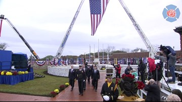 Arizona firefighter who died in the line of duty honored during national memorial
