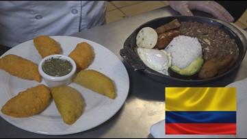 La Tiendita Colombiana nos prepara su platillo tipico conocido en el mundo