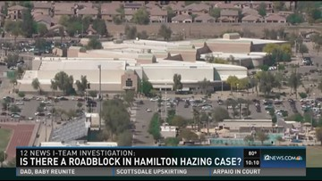 Is there a roadblock in the Hamilton hazing case?