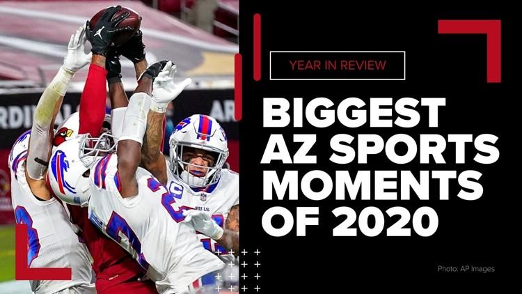 El pase 'milagroso' de Murray y más: 10 de los momentos deportivos más importantes de Arizona en el 2020