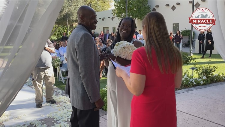 Miracle Makers: A surprise vow renewal leaves this man speechless