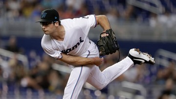 D-backs give away top prospect for a Marlins pitcher