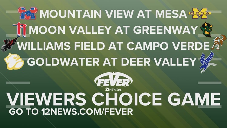 VOTE: Friday Night Fever Week 4 Viewer's Choice Game