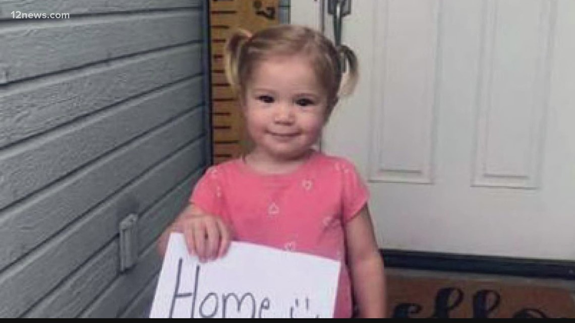 Search underway for 4-year-old swept away by floodwaters in Pima