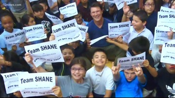 Doan Makes a Difference: Shane Doan hangs out with kids at the Boys and Girls Club
