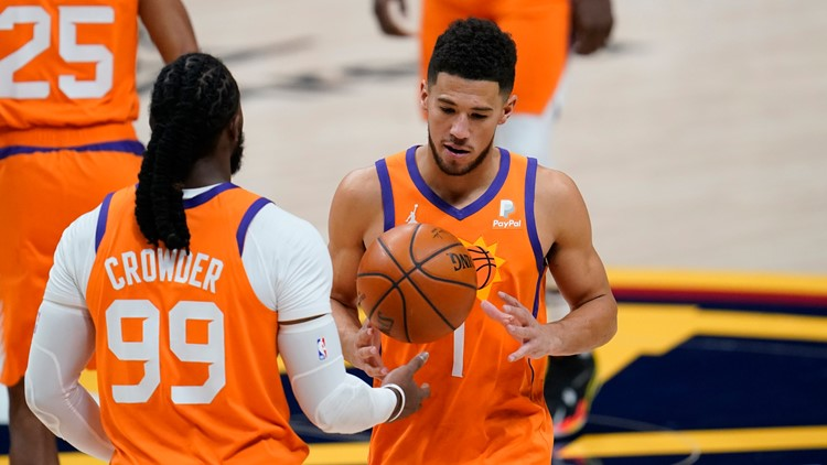 Jae Crowder once dissed Devin Booker after 70-point game. Now the teammates are laughing about it
