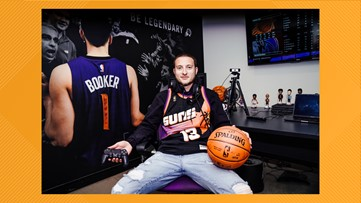 Valley native gets dream opportunity with Phoenix Suns