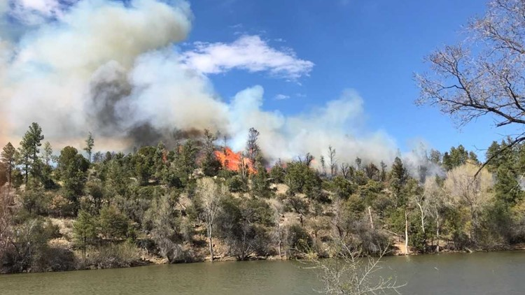 Lynx Fire near Prescott now 80 percent contained, officials say