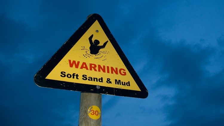 Quicksand is real? How to spot it, how to get out of it