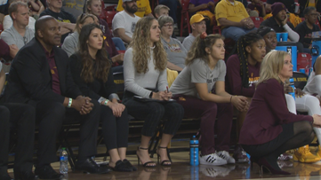 12 Sports serves as 'guest coaches' for ASU women's basketball game against Cal